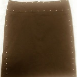 BCBG MAXAZRIA stretch skirt size 8 length 19.1/2 w